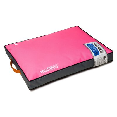 Surface-Control Reversible Thick Cushioned Travel Sporty Dog Mat Size: Extra Large (35.3 L x 23.7 W), Color: Pink