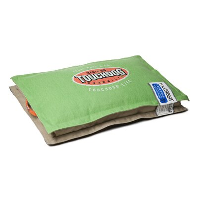 Sporty Shock-Stitched Reversible Rectangular Thick Dog Mat Size: Extra Large (35.4 L x 23.4 W), Color: Green