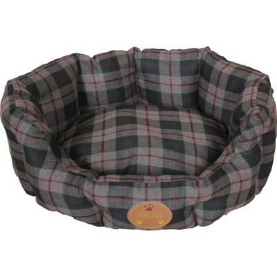 Wick-Away Nano-Silver and Anti-Bacterial Water Resistant Round Circular Dog Bed Size: Medium (25.6 L x 20.9 W)
