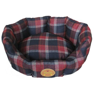 Wick-Away Nano-Silver and Anti-Bacterial Water Resistant Round Circular Dog Bed Size: Small (22.4 L x 18.1 W)