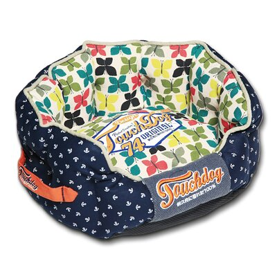 Butterfly Rounded Premium Designer Dog Bed Size: Large (25.6 L x 22.1 W)