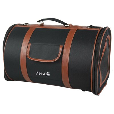 Airline Approved Fashion Bark Avenue Cylinder Posh Pet Carrier