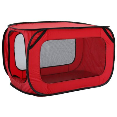 Alaska Mesh Canvas Collapsible Yard Kennel