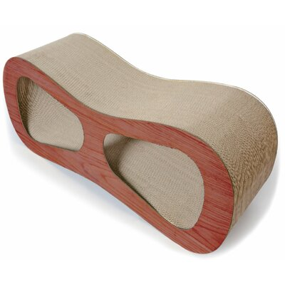 Cat-Eyed Ultra Premium Contoured Lounger Designer Cat Scratcher