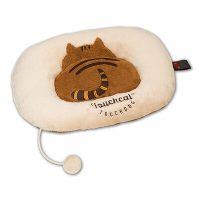 Touchcat Kitty-Tails Fashion Designer Fashion Premium Cat Pet Bed Color: Beige/Brown