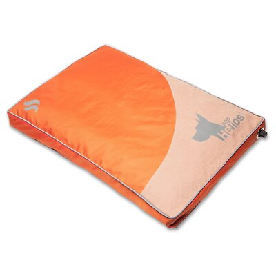 Dog Helios Aero-Inflatable Outdoor Camping Travel Waterproof Pet Bed Mat Cot Size: 29.92 W x 38.97 D, Color: Orange