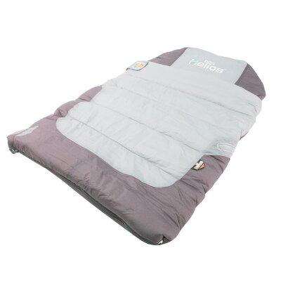 Trail-Barker Multi-Surface Travel Shark Technology Dog Bed Color: Gray