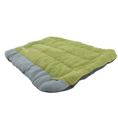 Combat-Terrain Outdoor Cordura-Nyco Travel Folding Dog Bed Size: Large (35.6 L x 25.6 W), Color: Green