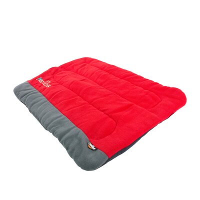 Combat-Terrain Outdoor Cordura-Nyco Travel Folding Dog Bed Size: Large (35.6 L x 25.6 W), Color: Red