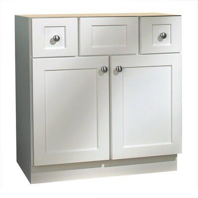 Cape Cod Series 30 Bathroom Vanity Base