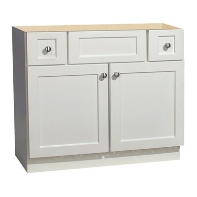 Cape Cod Series 36 Maple Bathroom Vanity Base