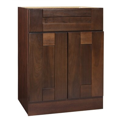 Georgetown Series 24 Chestnut Bathroom Vanity Base