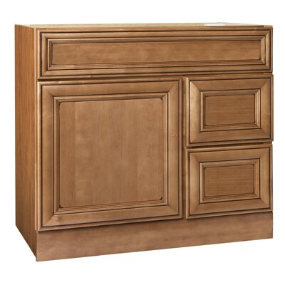 Heritage Series 36 Bathroom Vanity Base Orientation: Right