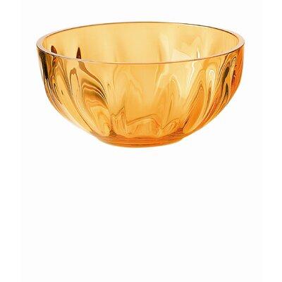 Aqua 6 Bowl In Orange (set Of 2)
