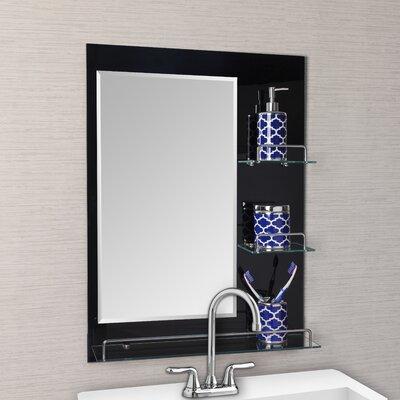 Oslo Vanity Bathroom Mirror with Shelves