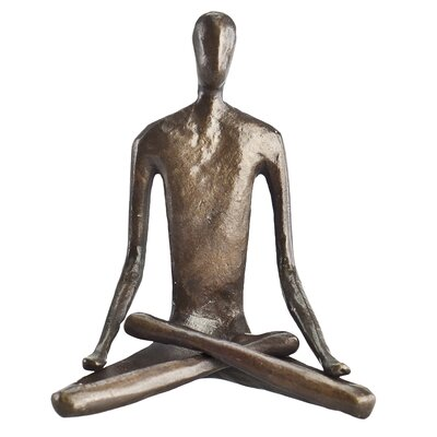 Yoga Lotus Figurine ZD5793S