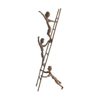Children on a Ladder Figurine