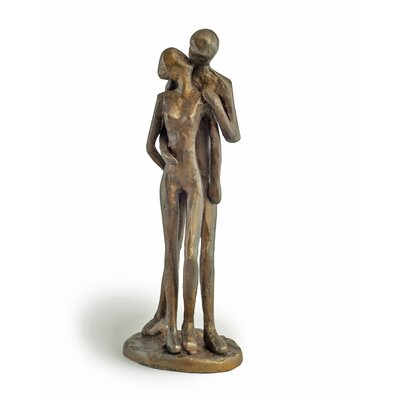 Couple Bronze Kissing Figurine ZD11075