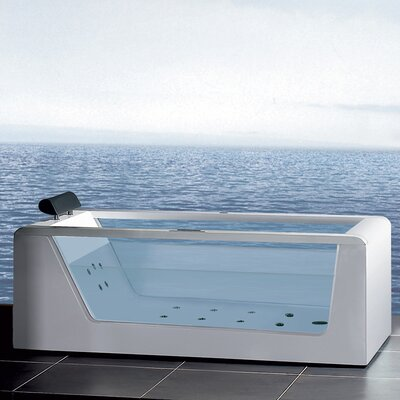 Platinum 59 x 25.6 Whirlpool Bathtub