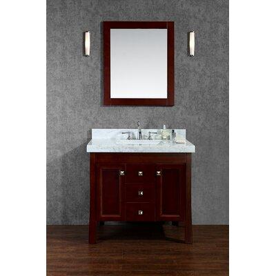 Greenbrier 36 Single Bathroom Vanity Set with Mirror