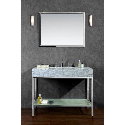 Seddon 48 Single Bathroom Vanity Set with Mirror