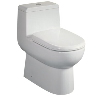 Platinum Camilla Dual Flush Elongated One-Piece Toilet