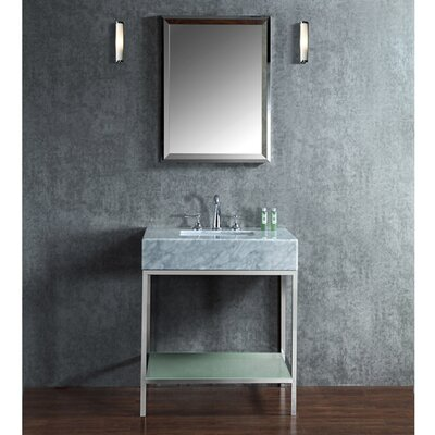Brightwater 30 Single-Sink Bathroom Vanity Set with Mirror