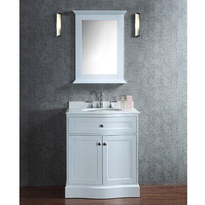 Georgette 30 Single-Sink Bathroom Vanity Set with Mirror