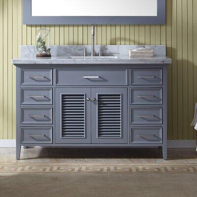 Hamil 55 Single Bathroom Vanity with Mirror