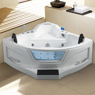 Ariel 61 x 61 Whirlpool Bathtub