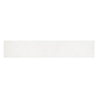 Ariel Vanity Top Sidesplash Finish: White