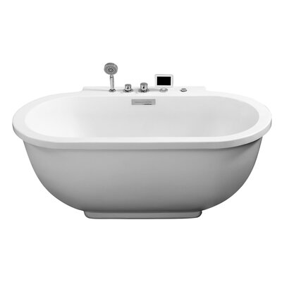 71 x 37 Whirlpool Bathtub