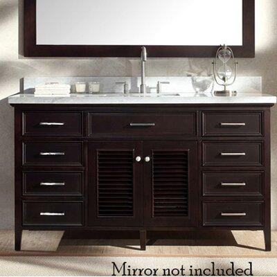 Hamil 61 Single Bathroom Vanity Set Base Finish: Espresso