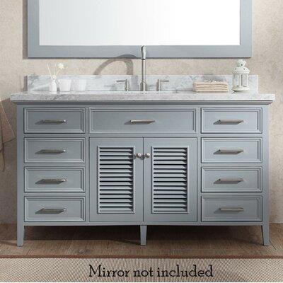 Hamil 61 Single Bathroom Vanity Set Base Finish: Gray