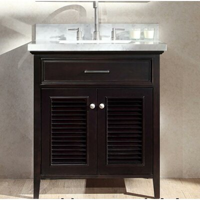 Hamil 31 Single Bathroom Vanity Set Base Finish: Espresso