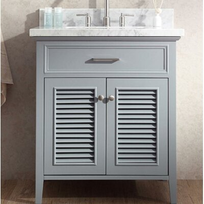 Hamil 31 Single Bathroom Vanity Set Base Finish: Gray