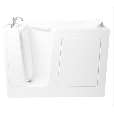 54 x 30 Whirlpool Bathtub Configuration: Left