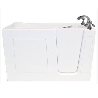60 x 30 Whirlpool Bathtub Configuration: Right
