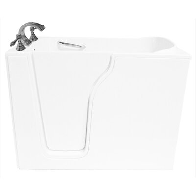 55 x 35 Whirlpool Bathtub Drain Location: Right