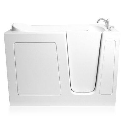 60 x 26 Dual Whirlpool Bathtub Configuration: Right