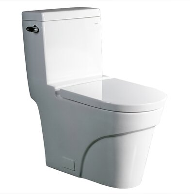 Oceanus Contemporary 1.6 GPF Elongated One-Piece Toilet