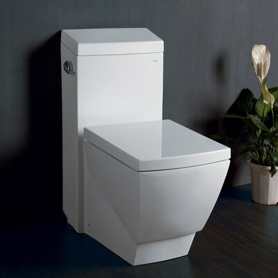 Aphrodite Contemporary 1.3 GPF Elongated One-Piece Toilet