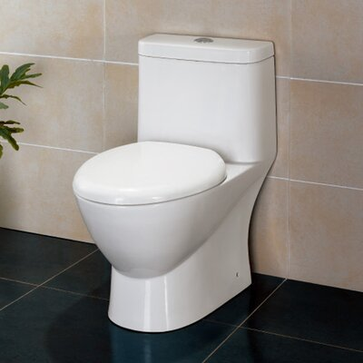 Platinum Adriana Dual Flush Elongated One-Piece Toilet