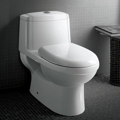 Platinum Anna Dual Flush Elongated One-Piece Toilet