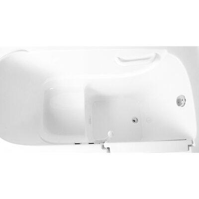 52 x 30 Soaking Walk-in Tub Configuration: Right
