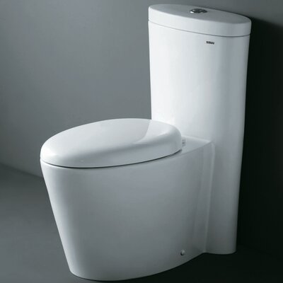 Monterey Contemporary Dual Flush Elongated One-Piece Toilet