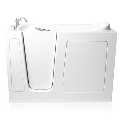 60 x 30 Whirlpool Bathtub Configuration: Left