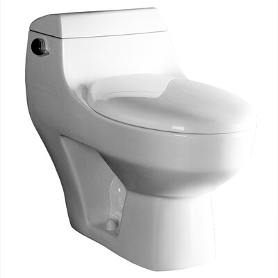 Athena Contemporary 1.6 GPF Elongated One-Piece Toilet