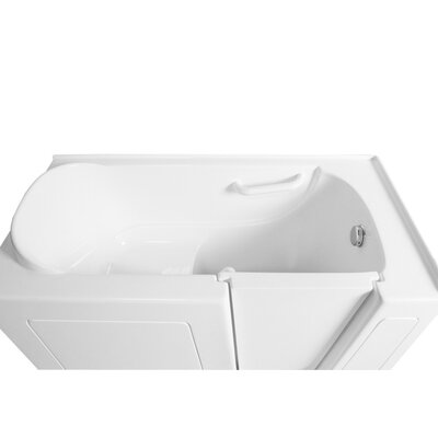 51 x 26 Whirlpool Bathtub Configuration: Right