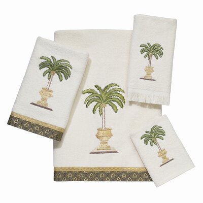 Date Palm 4 Piece Towel Set